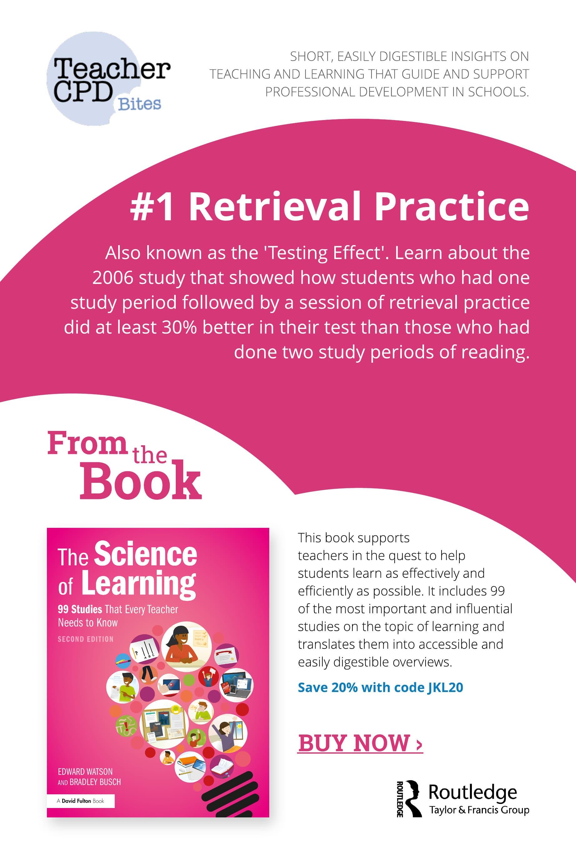 #1 Retrieval Practice