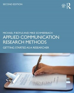 Applied Communication Research Methods Cover Image
